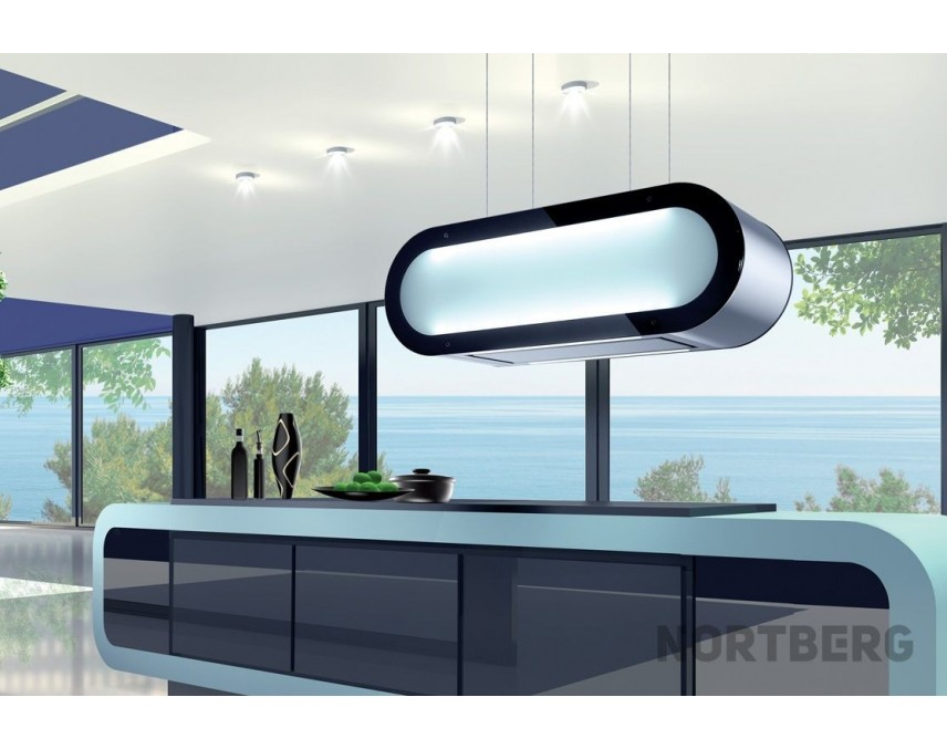 nortberg elips dunstabzugshaube inselhaube 70cm. Black Bedroom Furniture Sets. Home Design Ideas