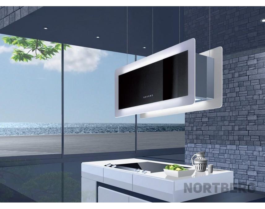 nortberg grandis dunstabzugshaube wandhaube 90cm. Black Bedroom Furniture Sets. Home Design Ideas